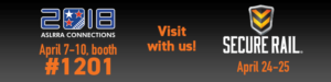 PST will be at the ASLRRA and Secure Rail Conferences