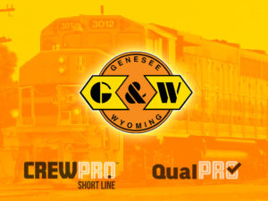Genesee and Wyoming select CrewPro railroad crew management systems and QualPro qualification and field testing system