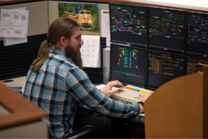 With PSR driven longer manifest trains, service interruptions caused by break-in-twos or in-train force caused derailments have brought an even greater focus to prevention. PS Technology has created a way to leverage existing railroad train data into useable derailment analysis and consist comparisons.