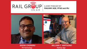 Railway Age editor in chief, Bill Vantuono interviews PST President Seenu Chundru about Precision Train Builder.